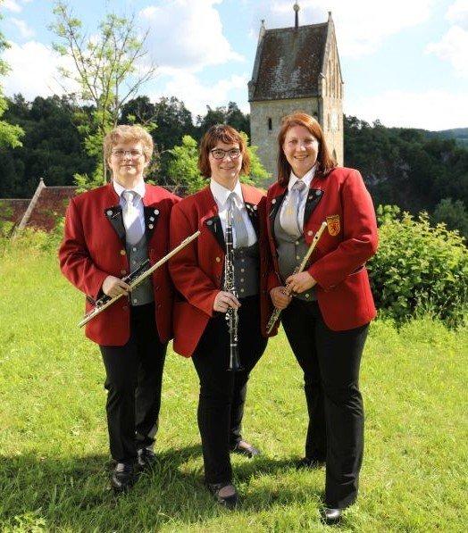 Flöten und Klarinette